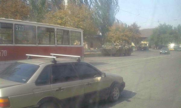 Ukrainian troops in Mariupol