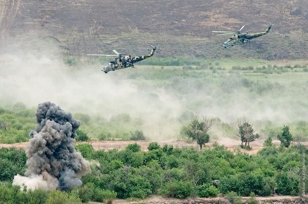 Russia conducts full-scale exercises on the border with Kazakhstan