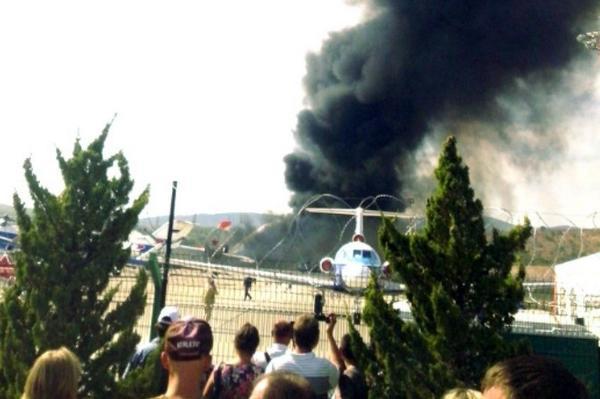 A criminal case about MiG-31 crash was opened of in Krasnodar region
