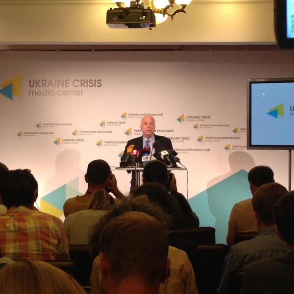 @SenJohnMcCain: Conflict in Ukraine today is about far more than Ukraine itself