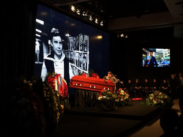 Moscow saying goodbye to Andrey Stenin