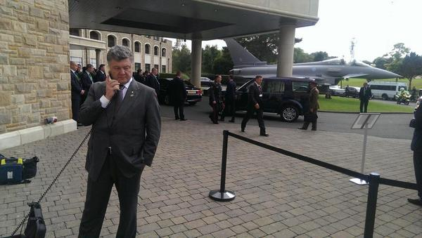 Poroshenko calls to Ukraine