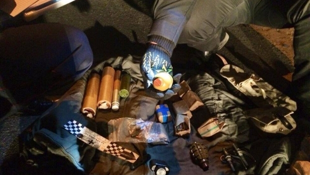 The car with ammunition was detained in Kyiv