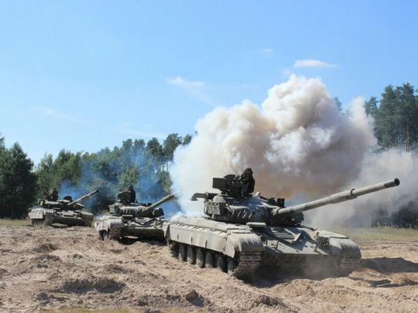 Ukraine holds drills In Chernihiv region