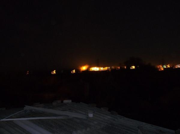 Russia shells Mariupol. Civil buildings burning inside city
