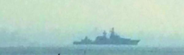 Russian Navy ship 121 RF Moskva crossed Bosphorus and travelled towards Dardanelles