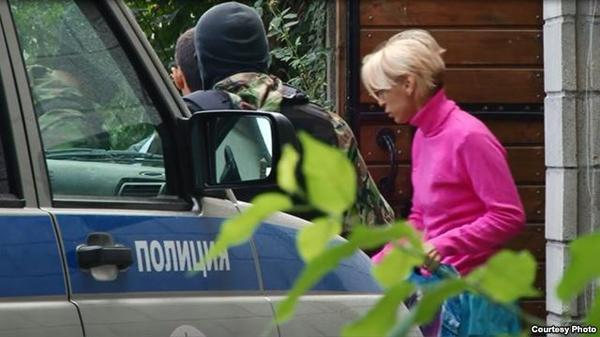 Russian occupation police detained Crimean activist Elizabeth Bogutskaya
