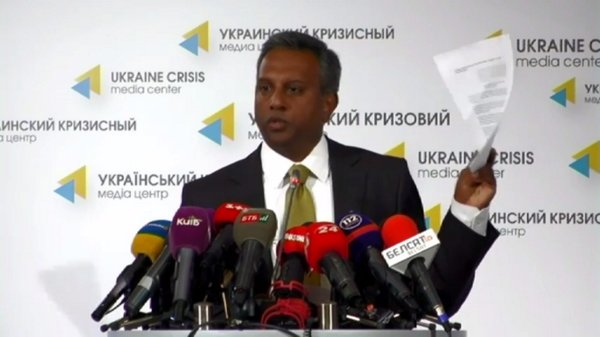 Conflict in E Ukraine labeled international which opens Russia for war crimes responsibility- Salil Shetty @amnesty