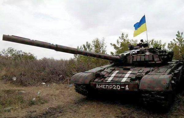Dnipro battalion now got a tank