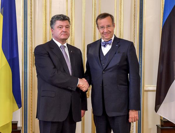 @poroshenko and @IlvesToomas Discussed the successful experience of Estonia in the fight against corruption