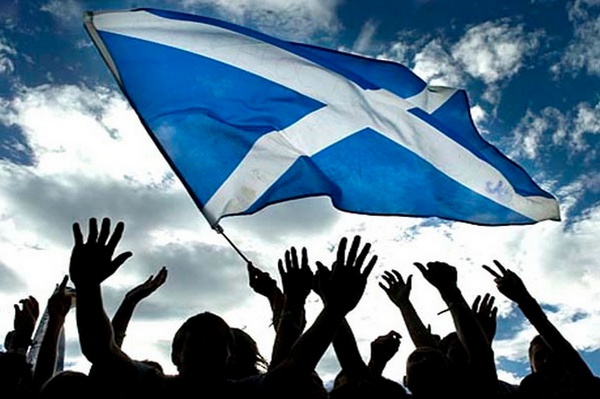 In the case of independence, Scotland would support sanctions against Russia