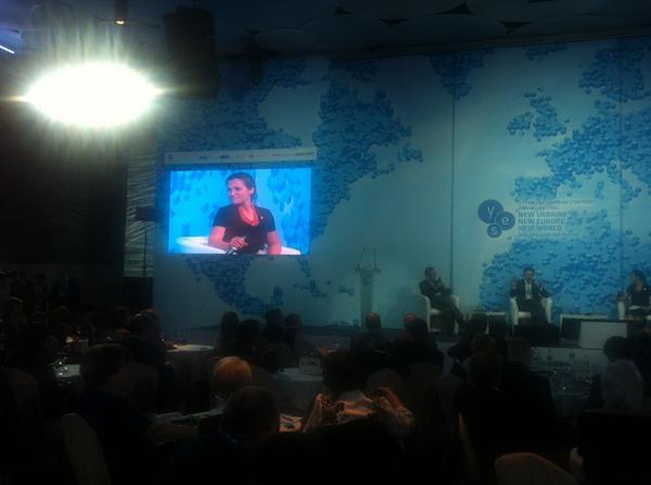 YESUkraine2014 summit in Kyiv now