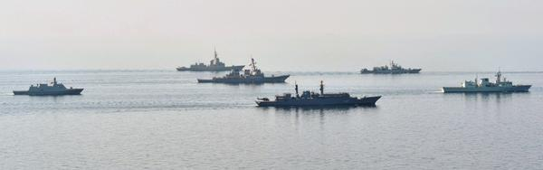 No Russians invited: warships in Black Sea on Sea Breeze 14 maneuvers