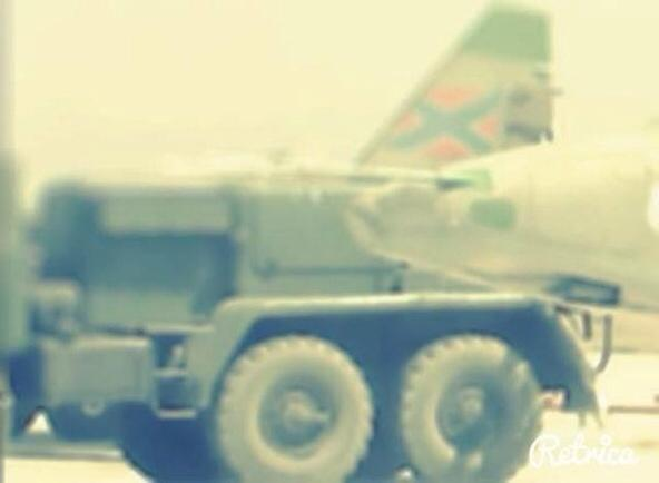 Russian airforce .. becomes a Novorussian airforce
