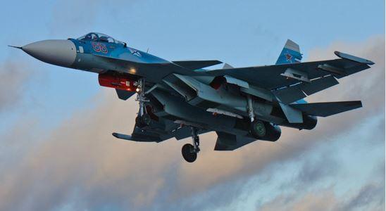 Russian Su-33s and Su-25UTGs training again at NITKA in Crimea