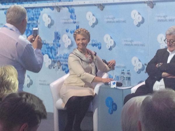 Timoshenko at YESUkraine2014