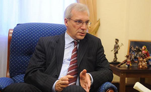 Russian envoy to NATO Alexander Grushko:NATO returning to Cold War schemes