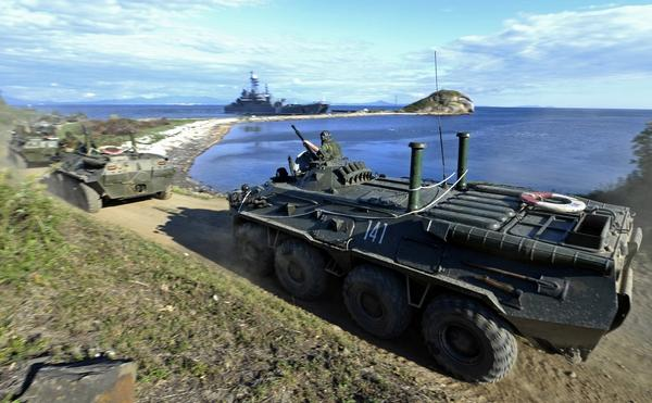 A snap check in Russia's Eastern Military District