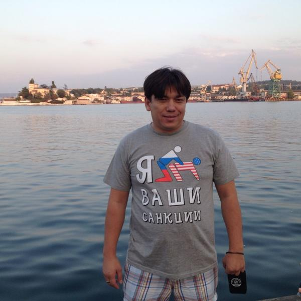 I **** your sanctions - the message this man from Sevastopol sends out to the US