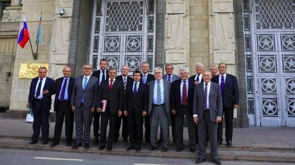 15 members of the French parliament have gone to Moscow to express their support of Putin and his war against theUkraine.