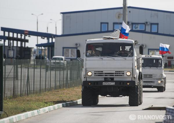 Luhansk is ready to let international and Ukrainian humanitarian convoys into republic