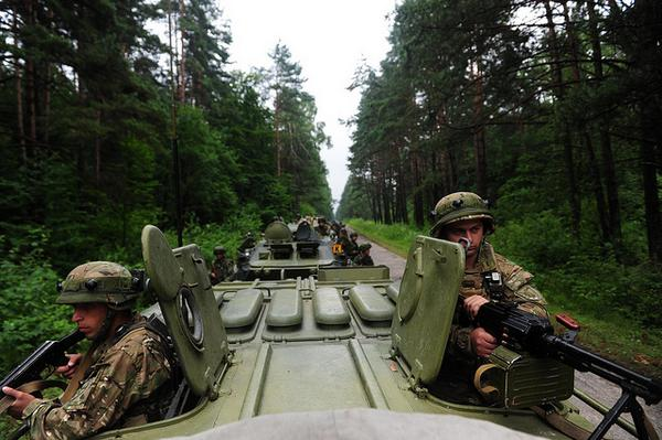 In Ukraine, Exercise Rapid Trident--Battalions from 15 nations,1300 personnel