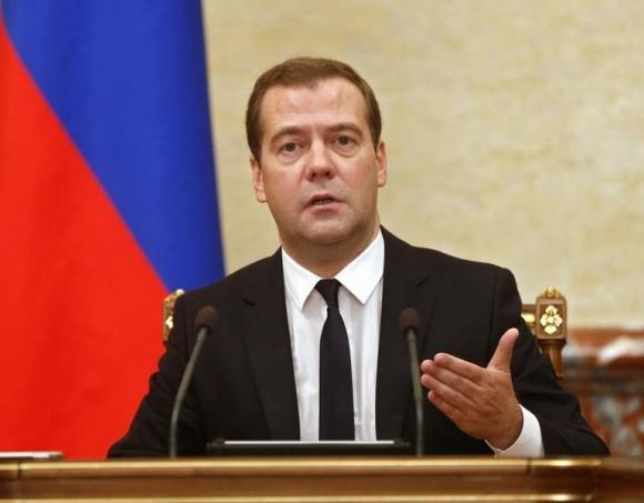 Russia's strength is being tested by sanctions imposed by the West, Medvedev says