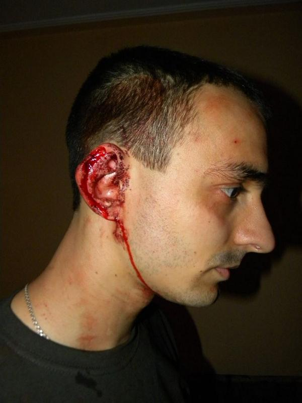 The founder of the Ukrainian social networks WEUA Bogdan Olearchyk was beaten in the center of Lviv