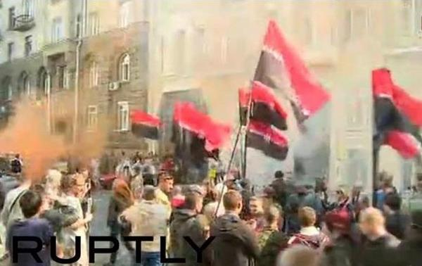 Rally of Right sector near Rada