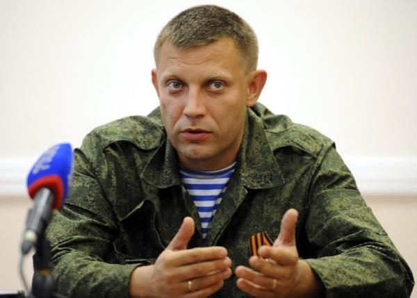 Zakharchenko: DNR will prepare for elections on our own