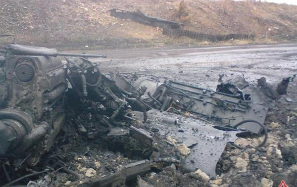 Remains of seven people were found near Ilovaisk