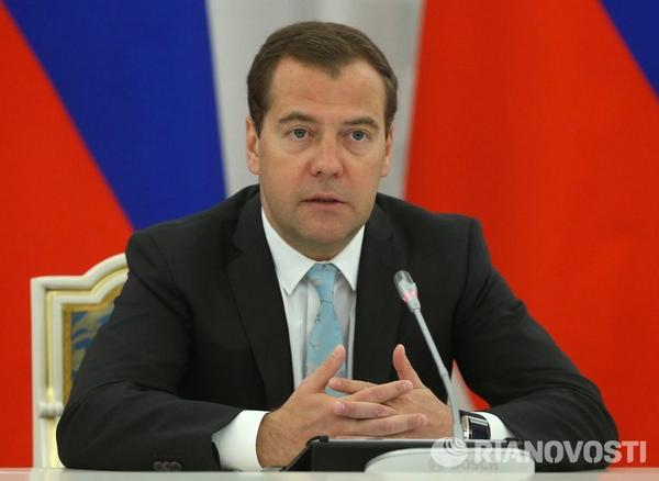 Medvedev announced the dismantling of the global financial and trading systems