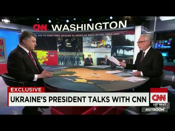 Ukraine's preliminary report on MH17 will be ready shortly - Poroshenko tells @wolfblitzer on @CNNSitRoom