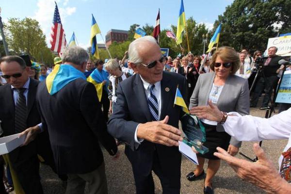 Rep. @BillPascrell at Sept 18 Ukraine rally