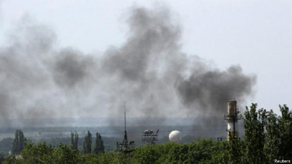 Donetsk: volleys of heavy weapons heard