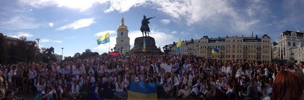 Vyshyvanka Rally in Kyiv
