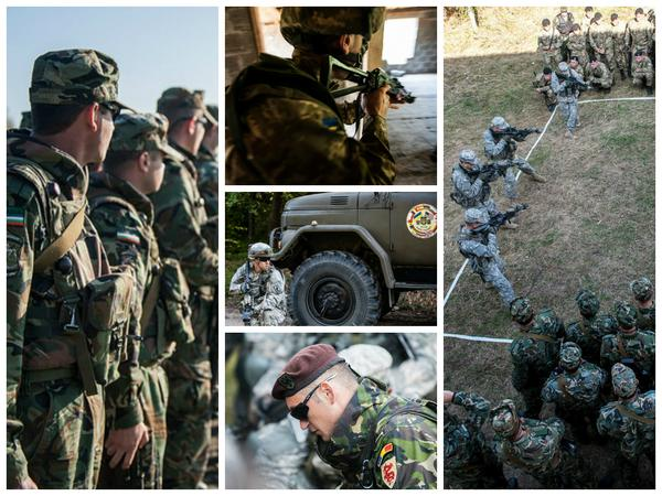 Exercise Rapid Trident held in Yavoriv