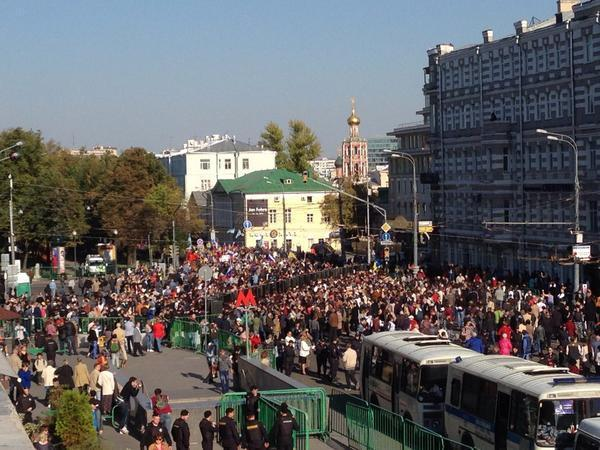 Moscow today: people against Putin's war