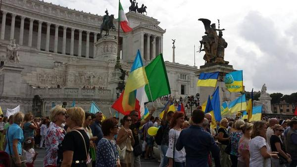PeaceMarch in Rome, Italy