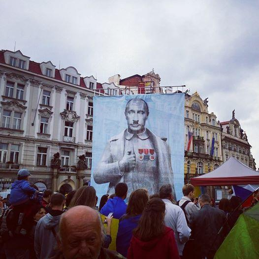 Rally in Prague