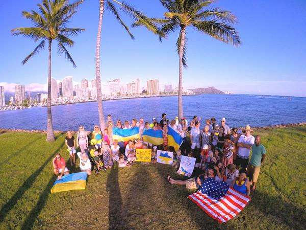 Peace March at Hawaii
