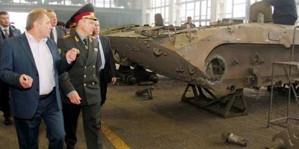 Soviet era APCs are being upgraded at the Zhytomyr armored factory