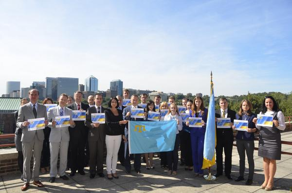 Embassy of Ukraine in the USA supports the Crimean Tatars