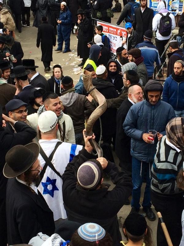 Happening now. Ukraine Uman. World's biggest Jewish pilgrimage