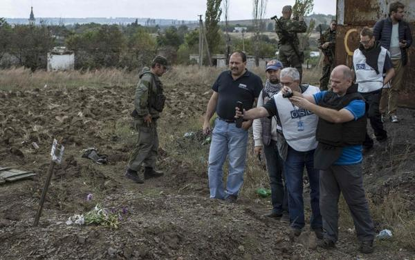 Three mass graves were discovered in Donetsk region - OSCE
