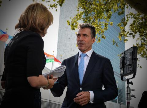 NATO SG @AndersFoghR: Russia reduced no. of troops in E Ukraine but still has special forces there.