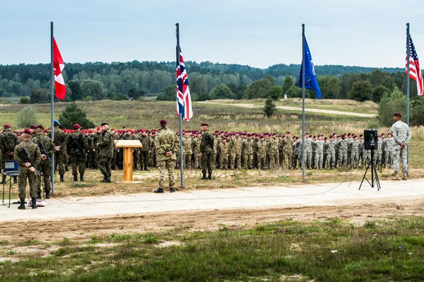 Anakonda14 exercise officially launched NATO
