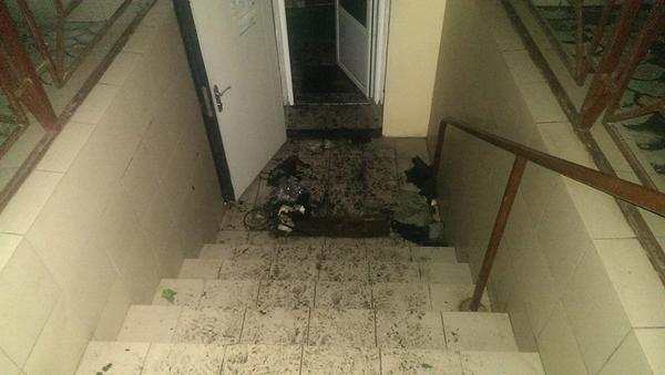 Office of the volunteer organization New Mariupol was set on fire an hour ago