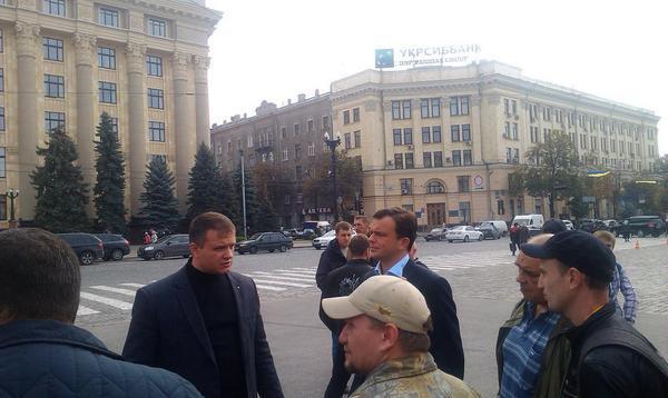 Rally in Kharkiv