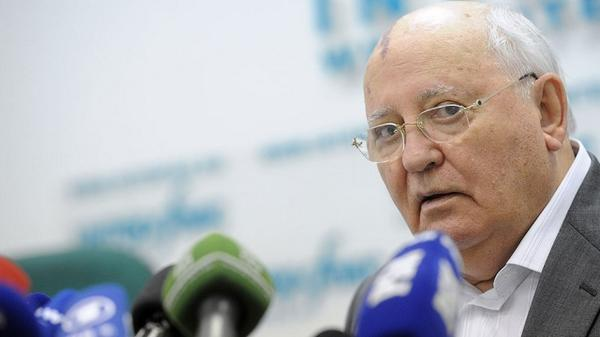 Gorbachev: the main global threat - not Ebola, but US